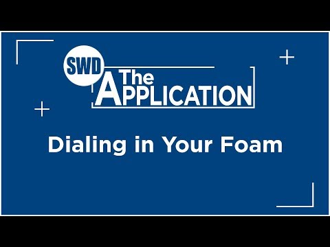 The Application: Dialing in Your Foam w/Jeremiah Schoneberg