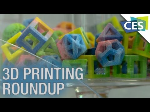 3D Printer Round-Up: Printing Food, Laser Printing, and More! – CES 2014