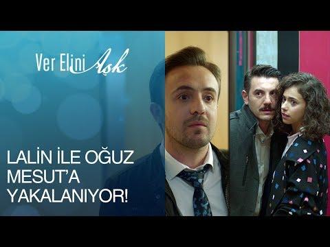 Ver Elini Aşk 7. Bölüm - Lalin ile Oğuz'un asansör macerası Mesut'a tosladı!