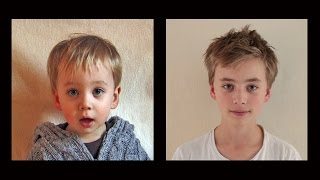 """Dutch artist Frans Hofmeester has filmed his son's portrait for 15 seconds every week from the day he was born. On the 23th of November 2015 Vince turned 13 years old.  This ultimate coming of age time lapse shows this boy transform from baby to 13 years. You are witness to one of the most mysterious, profound processes of human life - growing up - accelerated into 3 ½ minutes. It's a brand new edit, all in colour.Lotte en Vince komen uit Nederland.Ze zijn de kinderen van Frans Hofmeester die beide al vanaf de geboorte elke week 15 seconden lang filmt. Korte fragmentjes die prachtige timelapses van hun hele leven opleveren. Inmiddels is Lotte 16 jaar oud geworden en Vince 13. Ter ere hiervan verschenen er op het YouTube kanaal Hofmeester nieuwe films van beide kinderen.So many emotions in just 3 ½ minutes dictates the whole story of a teenager.ヴィンスのポートレート(0歳から13歳まで 3分30秒)""""To use this video in a commercial player, advertising or in broadcasts, please email Viral Spiral (a Rightster company) at licensing@righster.com"""" http://www.franshofmeester.nl13 años en 3 1/2 minutos: increíble secuencia del crecimiento DE UN NIÑO. El cineasta Holandés Frans Hofmeeste, se dio a la tarea de filmar a su hija Lotte durante su crecimiento en el transcurso de 13 años. El resultado fue este. Pai registra todos os meses da filha,do nascimento aos 13 anos de idade.Portraits d'une adolescente de sa naissance à ses quatorze ans Hier finden Sie die Zeitraffer Filme von Vince. El nacimiento hasta los 13 años en 3 1/2 min. Lapso de tiempo Vince.Van geboorte tot 13 jaar in 3 1/2  min. Time Lapse Vince. (The Original)De la naissance à 13ans en 3 1/2  min. Time Lapse Vince. (The Original)Dalla nascita ai 13 anni in 3 1/2  min. Time Lapse Vince. (The Original)Отец снимал дочь каждую неделю в течении 13 ЛЕТVídeo demorou 13 anos para ser feito, mas o resultado ficou sensacional """"Vince 'in Time Lapse filmlerini burada bulabilirsiniz."""""""
