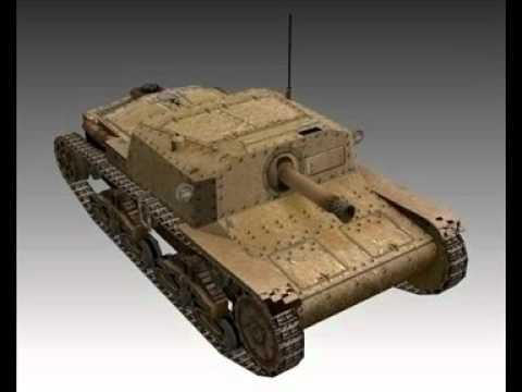 3D Model WW2 Italian Semovente 75 18.