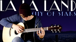 City of Stars (La La Land)  Ryan Gosling & Emma Stone - Fingerstyle Guitar Cover Video