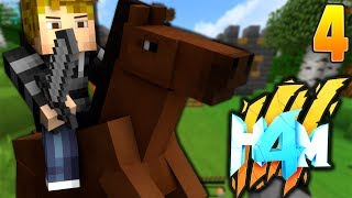 CASTLE HOUSE LOOKS AWESOME! |HOW TO MINECRAFT 4 #4 (Minecraft 1.8 SMP)