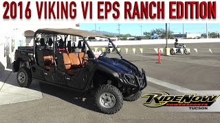 9. 2016 VIKING VI EPS RANCH EDITION   RideNow Tucson