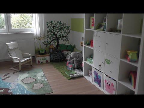 Kinderzimmer | Themenzimmer Wald und Wiese | Roomtour