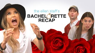 """The Ellen Show producers help surprise former Bachelorette Kaitlyn Bristowe with a sweet message from her fiancé, Shawn Booth. The couple plays """"The Not So Newlywed Game.""""""""The Bachelorette"""" airs Monday nights on ABC."""