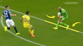 Kiper Bodoh atau Licik ? Inilah Kiper Yang Menangkap Bola di Luar Kotak Penalti ( Kiper Handball )