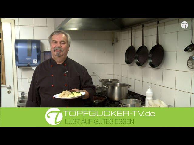 Tiegel- oder Grützwurst mit Sauerkraut und Kartoffelstampf   DDR Rezept   Topfgucker-TV