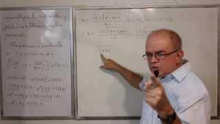Algebra Intermedia - Lección 51 - A (problemas Verbales De Movimiento)