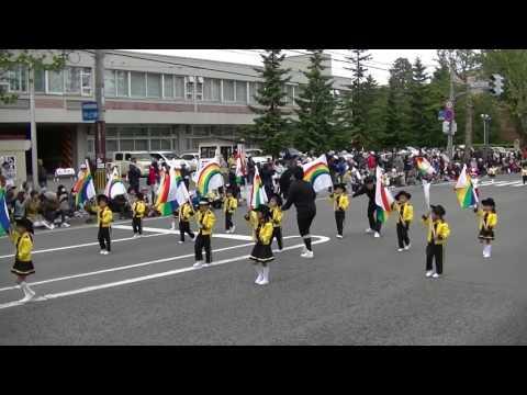 旭川蘭契保育園*音楽大行進2017