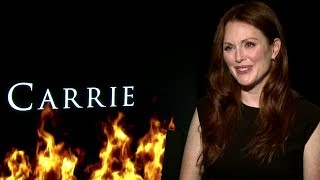 Julianne Moore Interview - Carrie (HD) JoBlo.com Exclusive