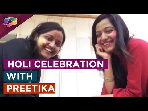 Preetika Rao's Holi-Special Selfi - Video chat