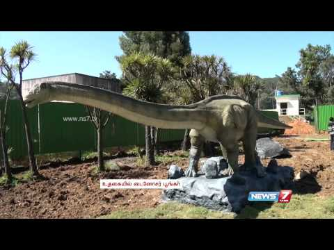 Video Animated Dinosaur Park set up in Ooty download in MP3, 3GP, MP4, WEBM, AVI, FLV January 2017