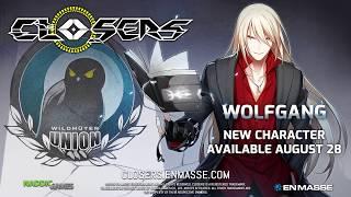В Closers добавлен новый герой Wolfgang