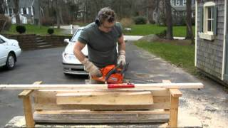 Basic info on using Beam Machineripping chain and bigger saw would be faster