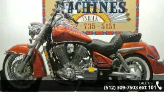 8. 2002 Honda VTX 1800S Spec 3  - Dream Machines Indian Moto...