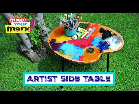 Artist Side Table