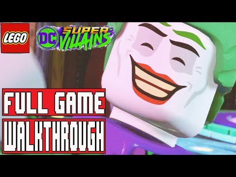 LEGO DC SUPER VILLAINS Gameplay Walkthrough Part 1 FULL GAME - No Commentary