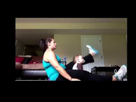 INSANITY workout – Mom AND Baby!