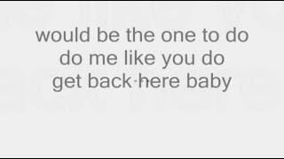 Usher - Red Light (Lyrics On Screen)