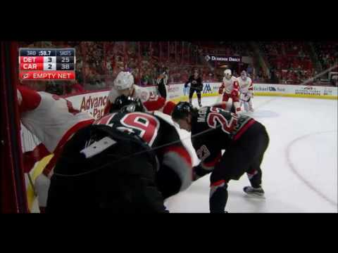 CAROLINA HURRICANES vs DETROIT RED WINGS (Mar 27)