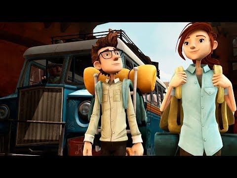 В поисках йети | Mission Kathmandu: The Adventures of Nelly & Simon трейлер