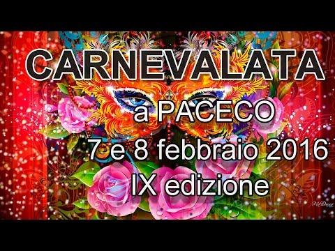 Carnevale a Paceco, CARNEVALATA 2016, tutti i carri