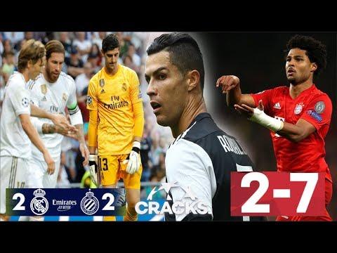 ¡SUFRE el MADRID! | JUVE GOLEA, récord para CR7 | ¡BAYERN APLASTA! GNABRY mete 4 | GRIZOU sobre LEO