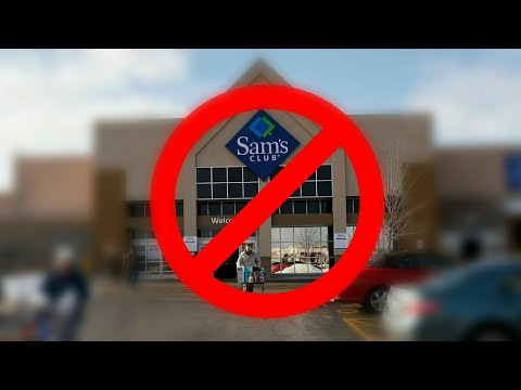 I GOT KICKED OUT IF SAMS CLUB *FOR DOING DUMB THINGS*