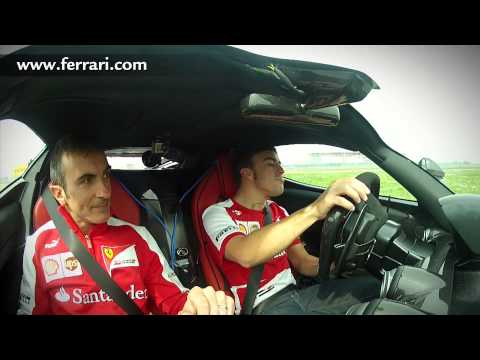 Fernando Alonso Drives LaFerrari