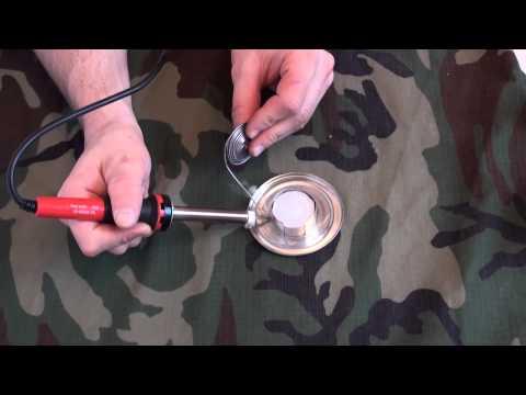 как сделать горелку на рыбалку