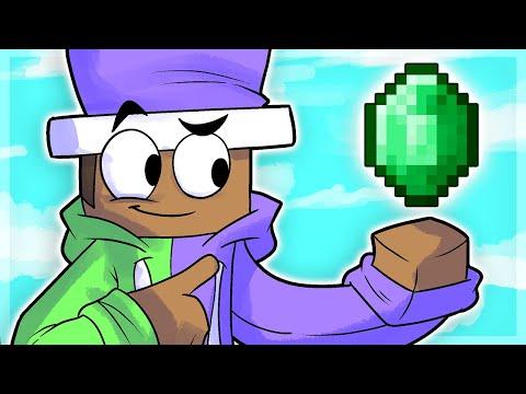Bedwars EMERALD ONLY Challenge! (Minecraft)