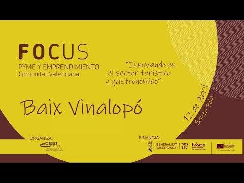 Vídeo promocional Focus Pyme y Emprendimiento Baix Vinalopó 19[;;;]Video promocional Focus Pime y Emprenedoria Baix Vinalopó 19[;;;]