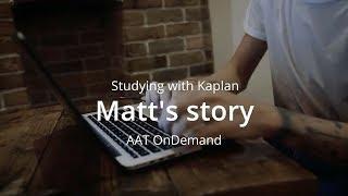 Studying with Kaplan - Matt's story