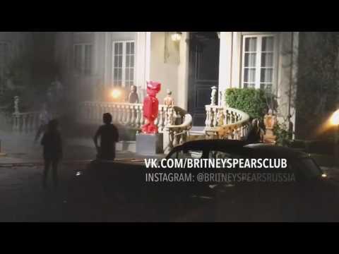 Britney Spears - Slumber Party (Behind the scenes) exclusive