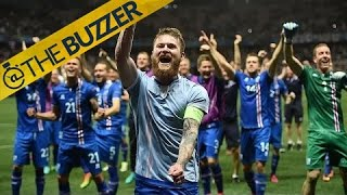 Iceland beat England, progress in the Euros by @The Buzzer