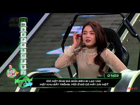 """Lan Hương lọt vào """"top hiếm"""" trong chương trình NHANH NHƯ CHỚP   NNC #5 MÙA 2   20/4/2019 - Thời lượng: 4:21."""