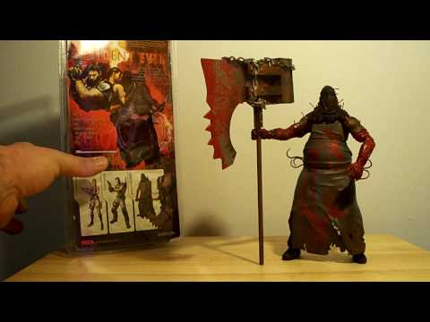 RESIDENT EVIL 5 EXECUTIONER MAJINI MOVIE 4 AFTERLIFE NECA ACTION FIGURE TOY REVIEW