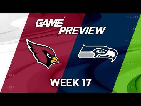 Video: Arizona Cardinals vs. Seattle Seahawks   NFL Week 17 Game Preview   NFL