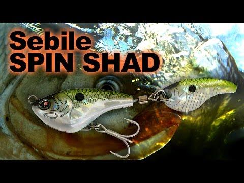 Sebile Spin Shad 22g videó