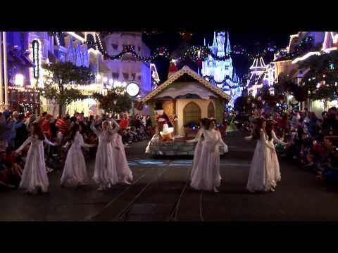 Full Mickey's Once Upon a Christmastime Parade at Disney's Magic Kingdom