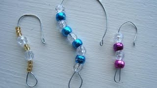 how to make a beaded ornament hanger, Christmas ornament hanger, Ornaments, - YouTube