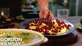 Video Gazpacho Paired With Pineapple Carpaccio, Pomegranate & Vanilla Salt By Gordon Ramsay MP3, 3GP, MP4, WEBM, AVI, FLV November 2018