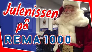 Julenissen på Rema 1000 Mosseskogen