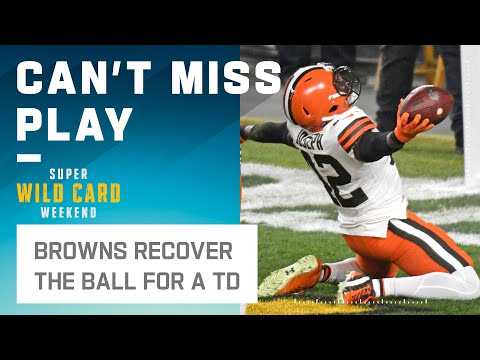 Browns 1st Playoff TD in 18 Years Comes 14 Seconds into the Game