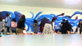 Korea International School Phoenix Mural Timelapse--Complete!