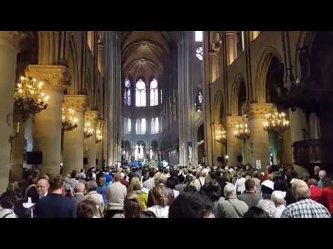 Notre Dame Paris Cathedral Sunday Mass