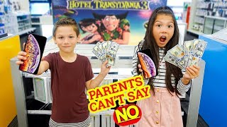 PARENTS CAN'T SAY NO!! KIDS IN CHARGE FOR 24 HOURS | Familia Diamond
