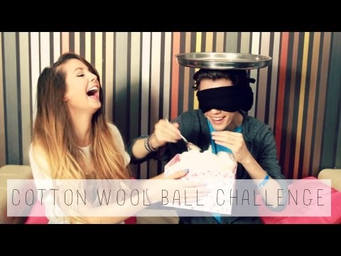 cotton - Cotton Wool Ball Challenge with Troye Sivan Troye's Video: http://bit.ly/15itPfj Subscribe to Troye: http://bit.ly/1abbLLY Thumbs up if you enjoyed this coll...
