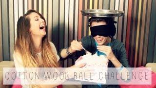 Cotton Wool Ball Challenge With Troye Sivan